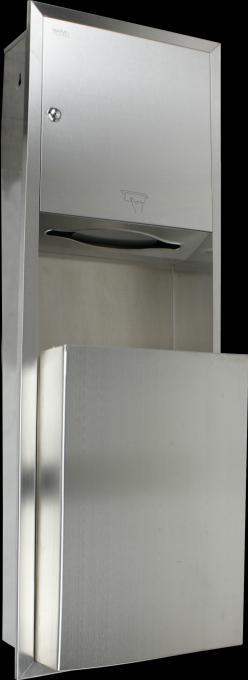 MBS-401 ที่ใส่กระดาษเช็ดมือพร้อมถังขยะ